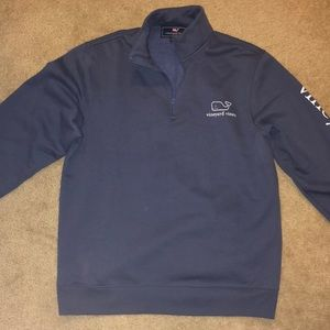 vineyard vines half zip sweatshirt